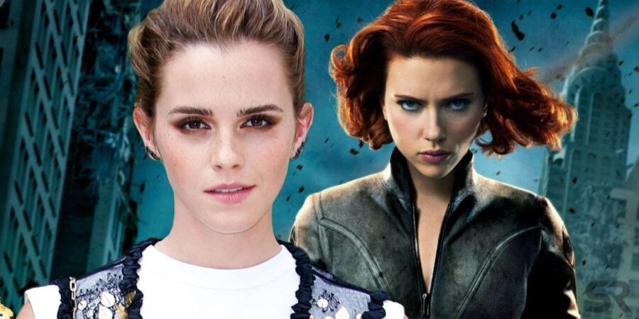 Image result for emma watson black widow