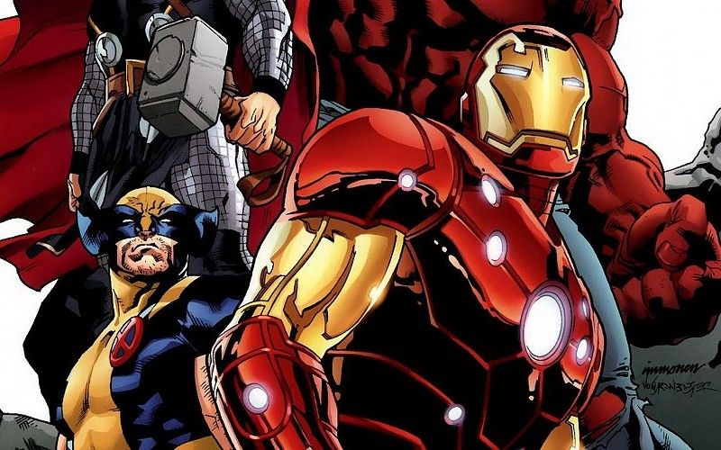 Iron Man Comics Thor Wolverine Marvel Comics Avengers